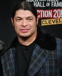 Robert Trujillo at the Rock & Roll Hall of Fame 2009 inductee announcement.