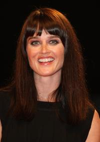 Robin Tunney at the premiere of