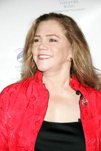 Kathleen Turner at the American Theater Wing Annual Dinner honoring CBS Television and it's chairman Leslie Moonves.