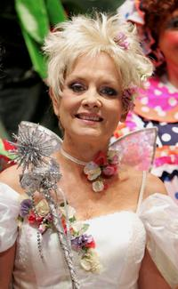Twiggy at the launch of Jack And The Beanstalk regional pantomime.
