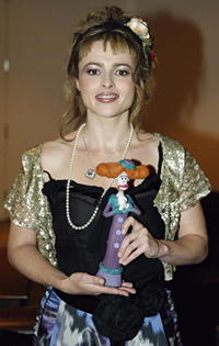"""Helena Bonham Carter at the screening of """"Wallace & Gromit and the Curse of the Were-Rabbit"""" in Toronto, Canada."""