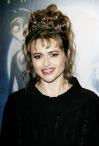 """Helena Bonham Carter at the premiere of """"Corpse Bride"""" in London, England."""