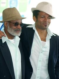 Melvin Van Peebles and Melvin at the 20th IFP Independent Spirit Awards.