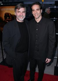 Dan Klores and Yul Vazquez at the premiere of