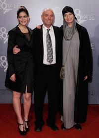 Director Martin Campbell, Solveig Romero and Veruschka at the German premiere of