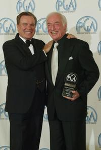 Robert Wagner and Bud Yorkin at the 14th Annual Producers Guild Awards.