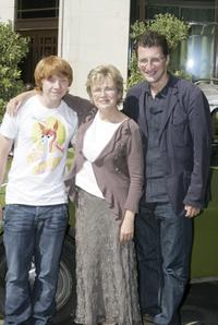 Julie Walters, Rupert Grint and Jeremy Brook at the photocall to promote the film