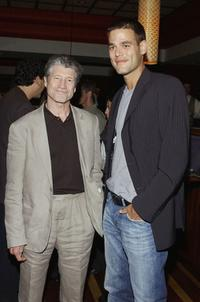 Fred Ward and Ivan Sergei at the afterparty for