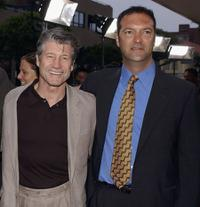 Fred Ward and Gary Pearl at the premiere screening of
