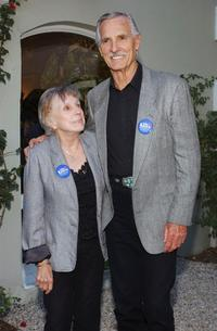 Dennis Weaver and his wife Gerry at the