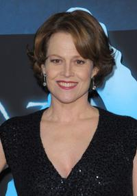 Sigourney Weaver at the California premiere of