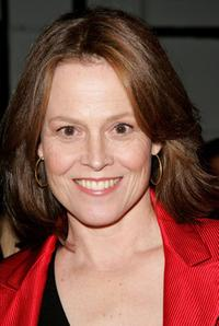 Sigourney Weaver at the Bill Blass Spring 2007 fashion show during Olympus Fashion Week.