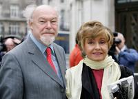 Timothy West and Prunella Scales at the Broadcasting house.