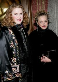Celia Weston and Carol Kane at the Academy of Motion Picture Arts & Sciences New York Oscar Night Celebration.