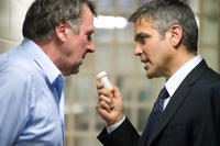 Tom Wilkinson and George Clooney in