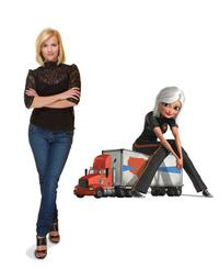 Reese Witherspoon voices Susan Murphy, a.k.a. Ginormica in