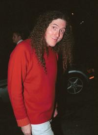 Weird Al Yankovic at the party celebrating the 5th Anniversary of