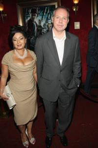 Yvonne Walcott and David Yates at the premier of