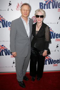 Michael York and Guest at the launch party for BritWeek.