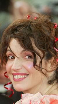 Zabou at the screening of