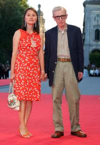 Woody Allen and wife Soon-Yi Previn at the 64th Venice Film Festival.