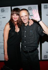 Dario Argento and Asia Argento at the Toronto International Film Festival 2007.