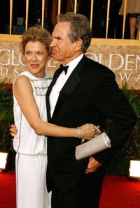 Warren Beatty and Annette Bening at the 64th Annual Golden Globe Awards.