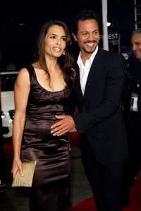 Benjamin Bratt and wife Talisa Soto at the AFI FEST 2007 presented by Audi, for the screening of