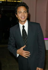 """Benjamin Bratt at the after party following the European premiere of """"Catwoman"""" in London."""