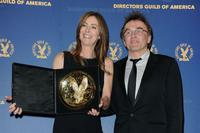 Kathryn Bigelow and Danny Boyle at the 62nd Annual Directors Guild Of America Awards.