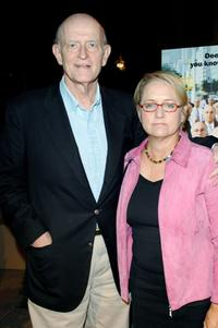 Peter Boyle and his wife Loraine Alterman at the Los Angeles Premiere of