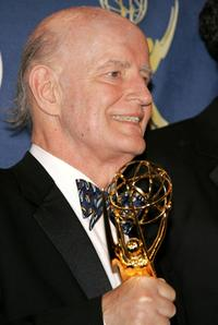 Peter Boyle at the press room at the 57th Annual Emmy Awards held at the Shrine Auditorium.