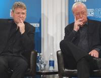 Kenneth Branagh and Michael Caine at the