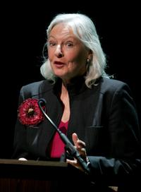 Jane Alexander at the Memorial For Jerry Orbach.