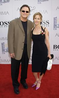 Albert Brooks and Kimberly Brooks at Graumans Chinese Theatre for the world premiere of the Warner Bros. film