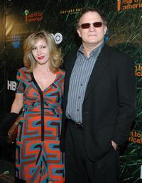 Albert Brooks and Kimberly at Caesars Palace for after party following the taping of the