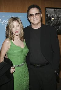 Albert Brooks and Kimberly at the afterparty for the Los Angeles premiere of the film