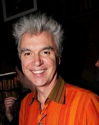 David Byrne at the Housing Works Bookstore Cafe's