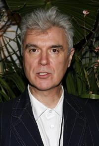 David Byrne at the dinner celebration of Paul Simon's
