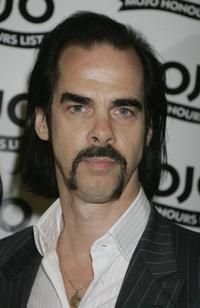 Nick Cave at the MOJO Honours List Awards.