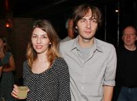 Sofia Coppola and Thomas Mars at the premiere of