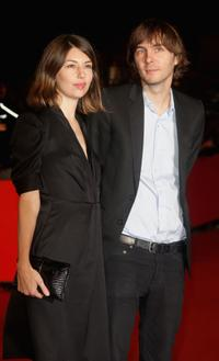 Sofia Coppola and Thomas Mars at the