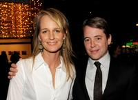 Helen Hunt and Matthew Broderick at the after party of the California premiere of