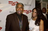 Ossie Davis and Audra MacDonald at the after party for opening night of
