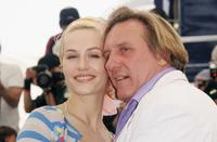 Gerard Depardieu and Cecile De France at the 59th International Cannes Film Festival.