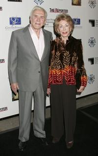 Kirk Douglas and wife Anne Douglas at the third annual