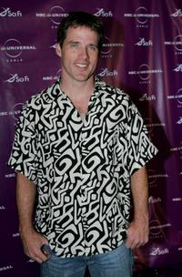 Ben Browder at the Sci-Fi Channel talent party.