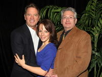 Tom Wopat, Leslie Kritzer and Harvey Fierstein at the 59th Annual New Dramatists Spring Luncheon honoring Harvey Fierstein.