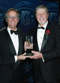 Peter Fonda and Richard Moore at the American Society of Cinematographers 19th Annual Outstanding Achievement Awards.