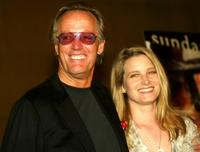 Peter Fonda and daughter Bridget Fonda at the screening of the newly restored